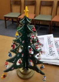 英会話スクール小さなクリスマスツリー